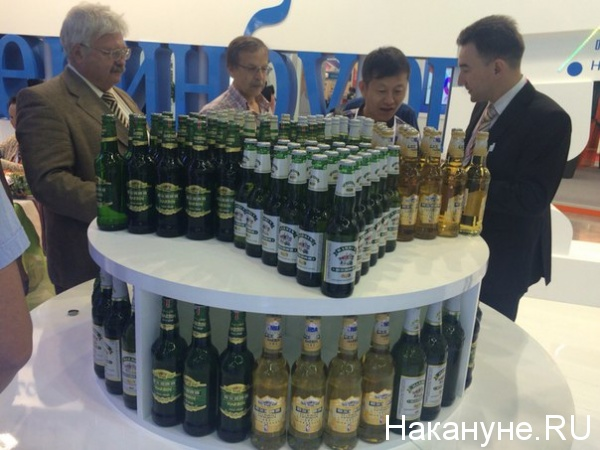 Иннопром пиво Китай|Фото: Накануне.RU