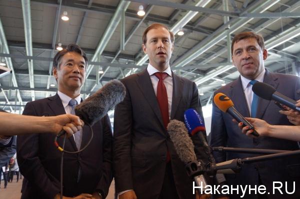 Мантуров, Куйвашев|Фото: Накануне.RU