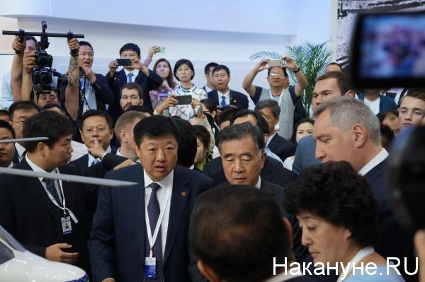 Дмитрий Рогозин, российско-китайское ЭКСПО Фото: Накануне.RU