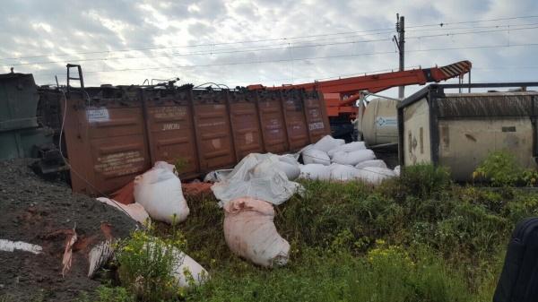 сход вагонов в Нижегородской области Фото: Приволжское следственное управление на транспорте