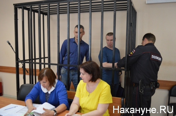 Андрей Алешкин и Максим Шевелев Фото:Накануне.RU