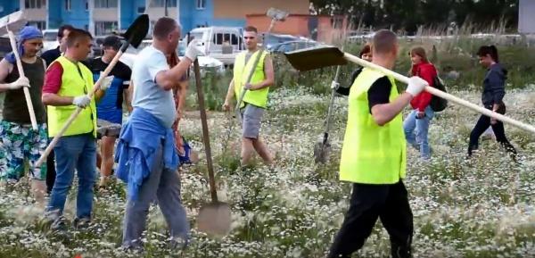 Чурилово, строительство школы,|Фото:youtube.com