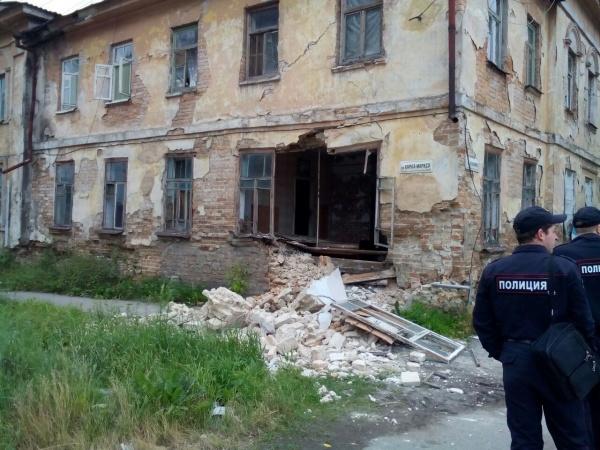 Ирбит стена дом обрушение|Фото: ГУ МЧС РФ по Свердловской области