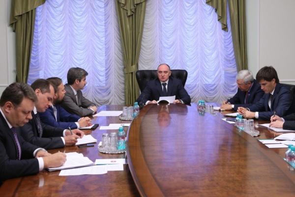 Борис Дубровский, аппаратное совещание,|Фото: пресс-служба губернатора Челябинской области