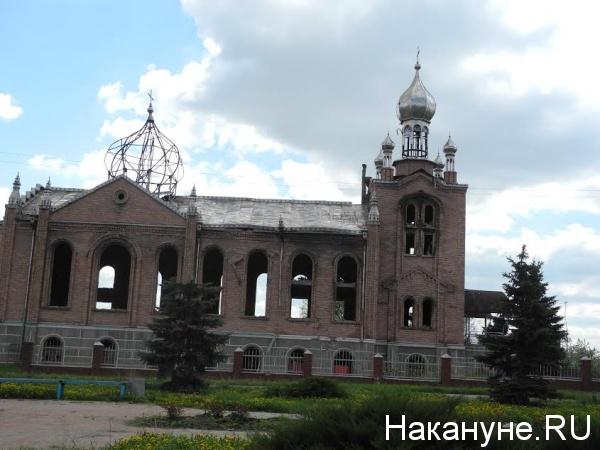 Церковь, храм, Донбасс, обстрелы, религия|Фото: Накануне.RU
