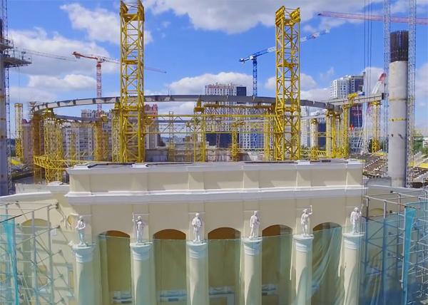 Центральный стадион, Екатеринбург, Екатеринбург-Арена, реконструкция Фото: youtube.com