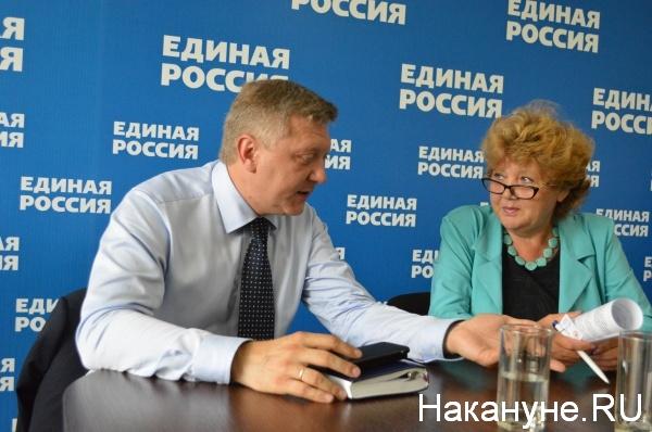 Дмитрий Вяткин и Наталья Семина|Фото:Накануне.RU