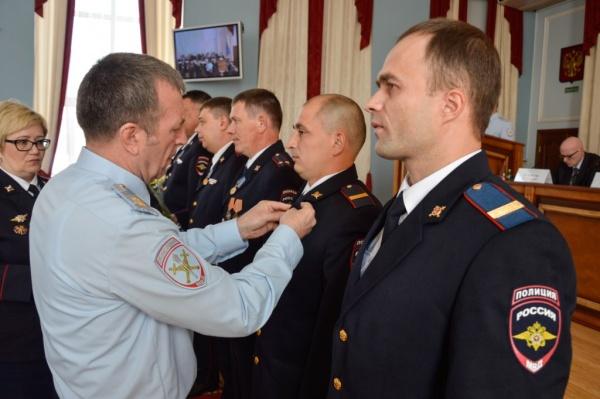 полиция, коллегия, Михаил Бородин, награждение|Фото: ГУ МВД России по СО