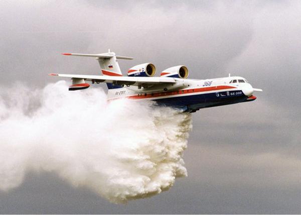 Самолет БЕ-200, лесные пожары|Фото: livejournal.com