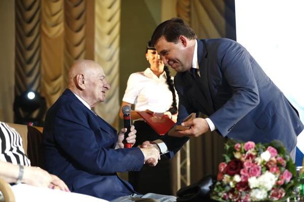 Семен Спектор, Евгений Куйвашев|Фото: Департамент информационной политики губернатора