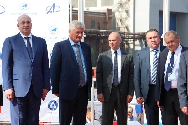 торжественная церемония закладки второго серийного атомного ледокола проекта 22220 Фото: rosatom.ru
