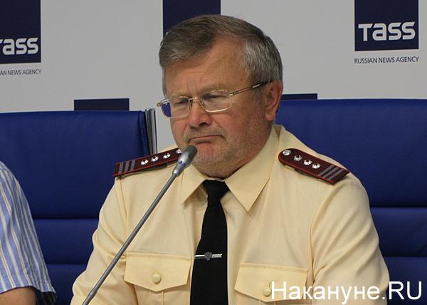 пресс-конференция по пожарам, сибирской язве, Андрей Юровских|Фото: Накануне.RU