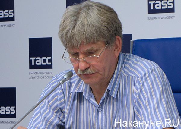 пресс-конференция по пожарам, сибирской язве, Игорь Роговский|Фото: Накануне.RU