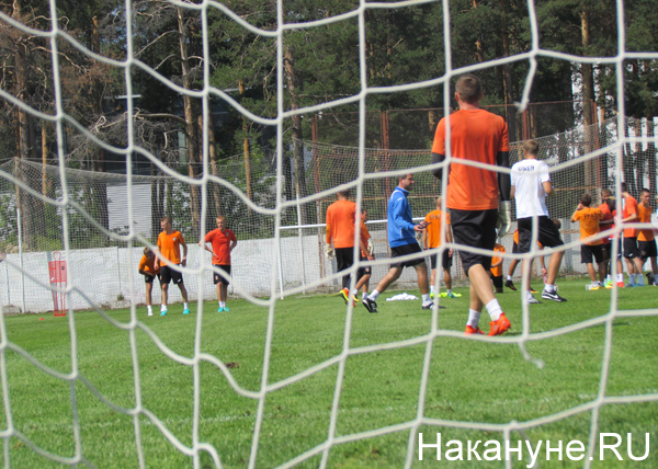 ФК Урал тренировка|Фото: Накануне.RU