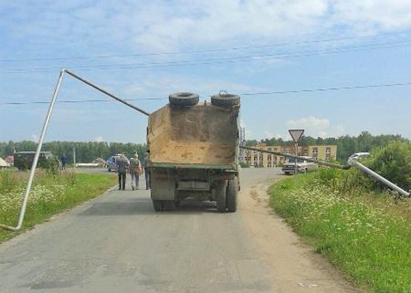 Талица, КАМАЗ, газопровод|Фото: МВД Свердловской области