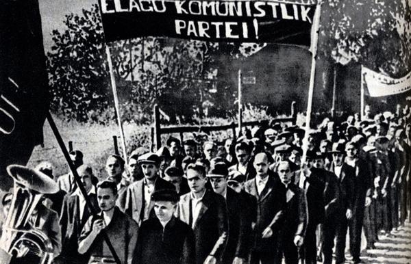 Демонстрации в Каунасе, Риге и Таллине. Июль 1940 года, Прибалтика(2016)|Фото:
