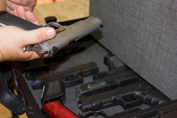 пистолет, оружие|Фото: ГУ МВД России по СО
