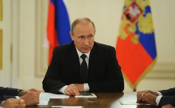 Владимир Путин Совбез|Фото: пресс-служба президента РФ