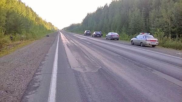 трасса Екатеринбург-Нижний Тагил-Серов, ДТП Фото: МВД Свердловской области