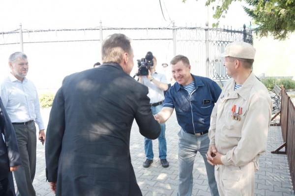 Игорь Шувалов, ЦПКиО Фото: Департамент информационной политики губернатора
