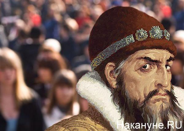 коллаж, Иван Грозный, толпа, общественное мнение|Фото: Накануне.RU