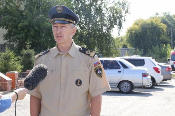 Андрей Куренков|Фото:МЧС России по Курганской области