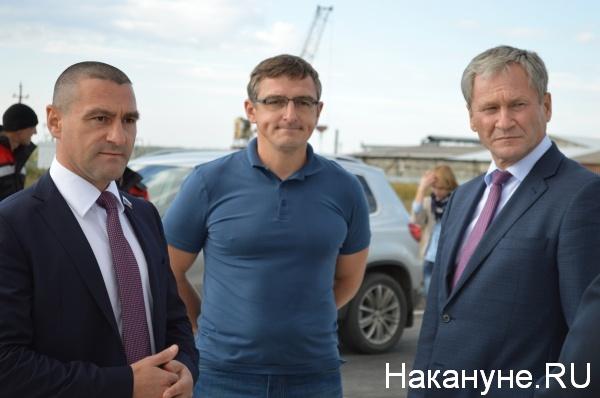 Александр Ильтяков, Дмитрий Ильтяков, Алексей Кокорин|Фото:Накануне.RU