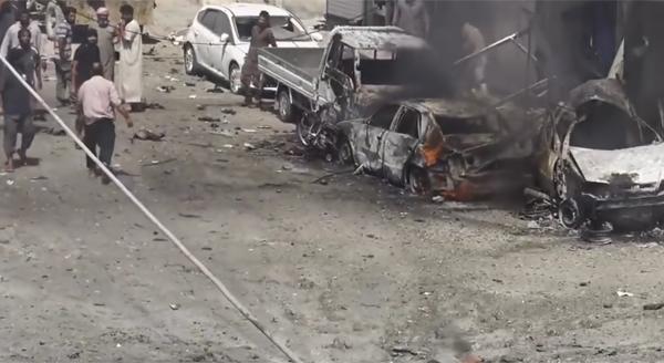 бомбардировка, США, Сирия, Манбидж|Фото: youtube.com