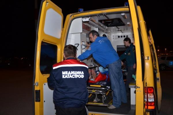 турист, перевал Дятлова, транспортировка, эвакуация, МЧС|Фото: ГУ  МЧС по СО