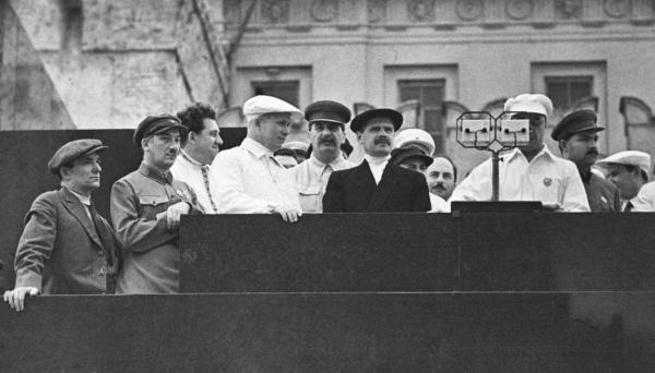 Ягода, Хрущев, Сталин|Фото: