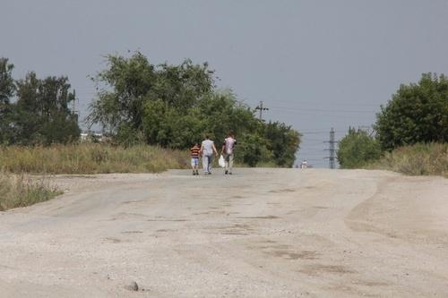 поселок Новосинеглазовский, омбудсмен, опасная дорога,|Фото: пресс-служба уполномоченного по правам человека в Челябинской области