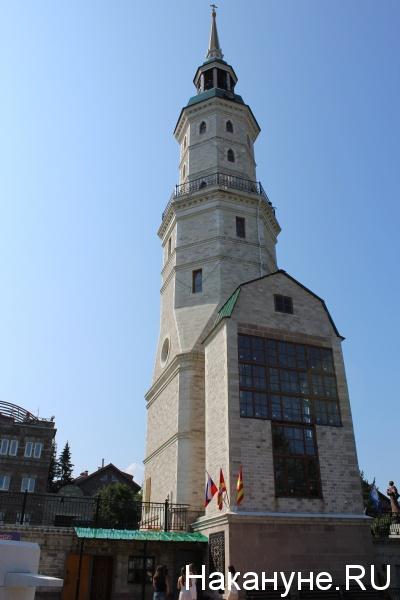 горный парк имени Бажова, башня-колокольня с часовней,|Фото: Накануне.RU