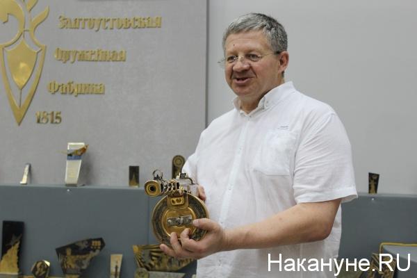 Златоустовская оружейная фабрика, Валерий Томея,|Фото: Накануне.RU