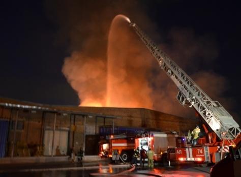 пожар склад Березовский|Фото: ГУ МЧС РФ по Свердловской области