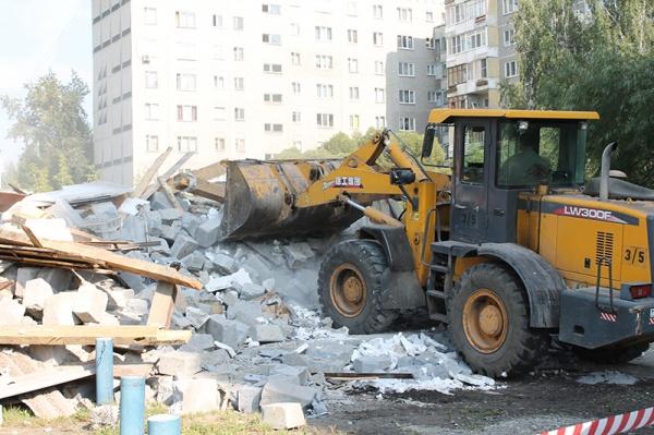 снос пивной в Екатеринбурге Фото: УФССП по Свердловской области