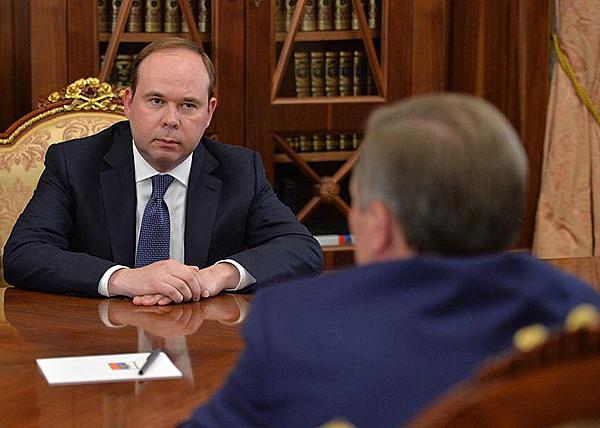 Антон Вайно, Сергей Иванов|Фото: kremlin.ru