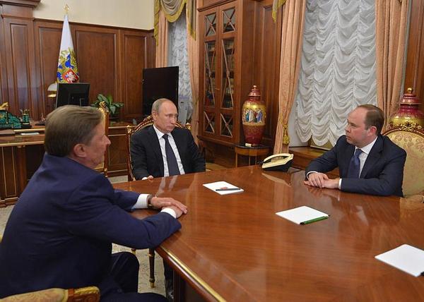 Антон Вайно, Сергей Иванов, Владимир Путин|Фото: kremlin.ru