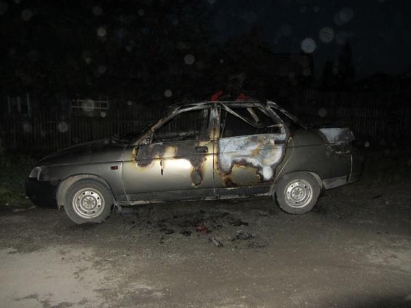 автомобиль поджог|Фото: ГУ МВД РФ по Свердловской области