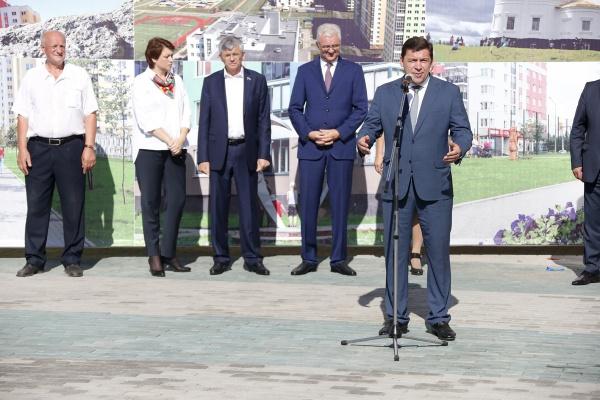 Евгений Куйвашев Александр Якоб школа Академический открытие|Фото: ДИП губернатора Свердловской области