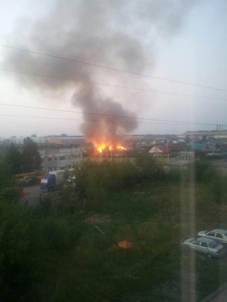 пожар, Курган, Западный|Фото:vk.com