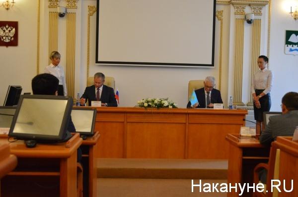 Ерик Султанов, Алексей Кокорин|Фото:Накануне.RU