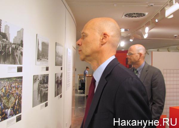 """Ельцин-центр"", открытие выставки, ""Август 91-го. Люди на площади"", Маркус Микели|Фото: Накануне.RU"