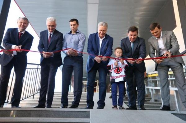 Дацюк-арена открытие|Фото: ДИП губернатора Свердловской области