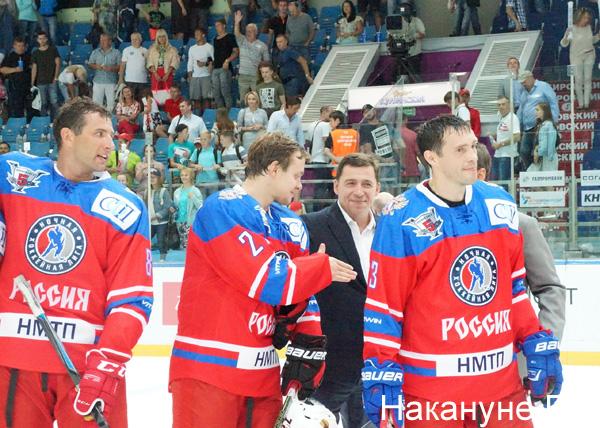 """Друзья Дацюка"" - ""Неоплан"", хоккей|Фото: Накануне.RU"