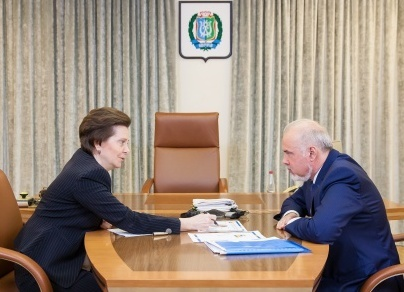 Наталья Комарова, Вадим Шувалов|Фото:Пресс-служба губернатора Югры