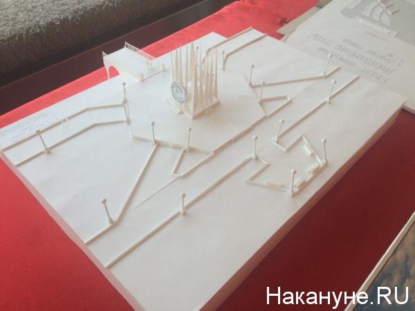проект размещения Краснознаменной группы в Екатеринбурге Фото: Накануне.RU