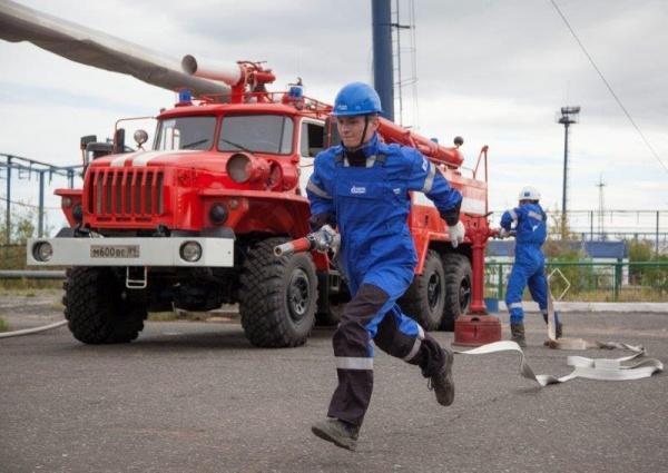 соревнования добровольных пожарных дружин, пожар, Газпромнефть-Муравленко|Фото: mn.gazprom-neft.ru/