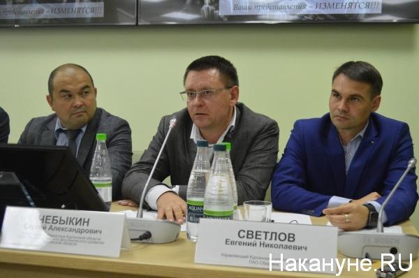 Сергей Чебыкин (в центре)|Фото:Накануне.RU