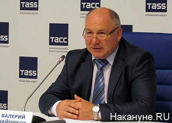чайников валерий аркадьевич председатель избирательной комиссии свердловской области Фото: Накануне.ru