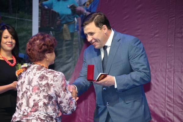 День пенсионера, Евгений Куйвашев Фото: Департамент информационной политики губернатора СО